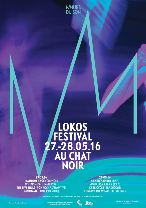 Affiche lokos festival 2016