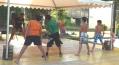 Tour de Plage 2016 initiation Kickboxing