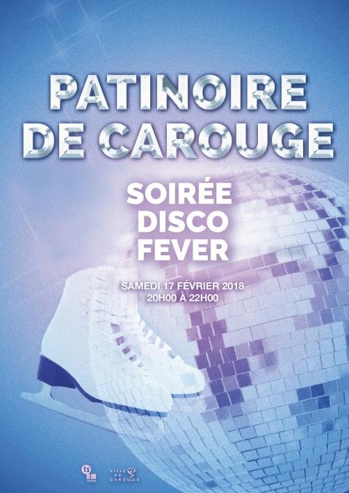 Soirée disco du 17.02.2018 à la patinoire